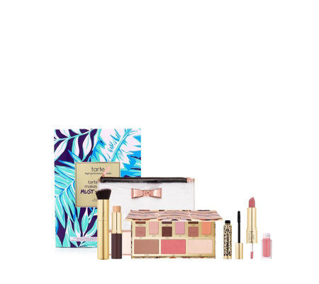 Tarte 5 Piece Make-Up Bag Must-haves Collection & Bag