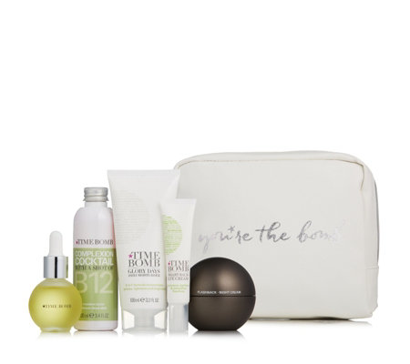 Lulu's Time Bomb 5 Piece Get The Glow Skincare Collection