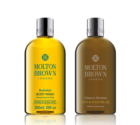 Molton Brown Bushukan & Tobacco 300ml Body Duo