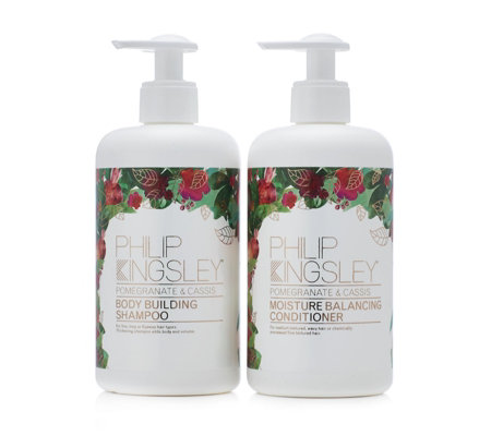 Philip Kingsley Pomegranate & Cassis Shampoo & Conditioner Duo