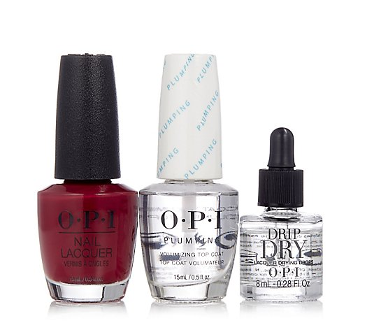 OPI 3 Piece Drip Dry Manicure Collection