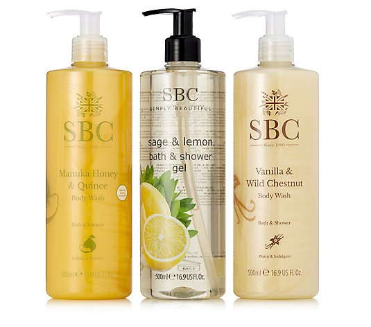 SBC Seasonal Shower Trio 500ml