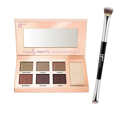 IT Cosmetics Love Edition Naturally Pretty Essentials Palette & Brush