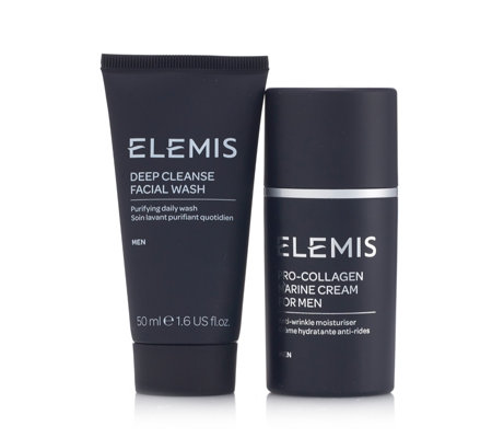 Elemis Men's Pro-Collagen Marine Cream & Facial Wash