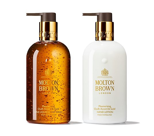 Molton Brown Mesmerising Oudh Accord & Gold Handcare Collection 300ml
