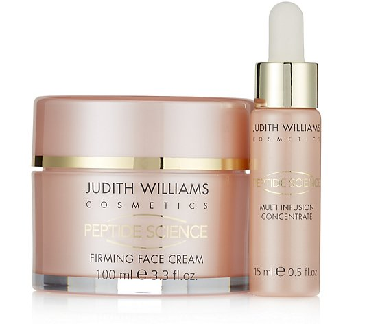 Judith Williams Peptide Science Day Infusion Booster 15ml & Face Cream 100ml
