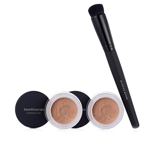 Bareminerals Bisque Concealer Duo & Brush
