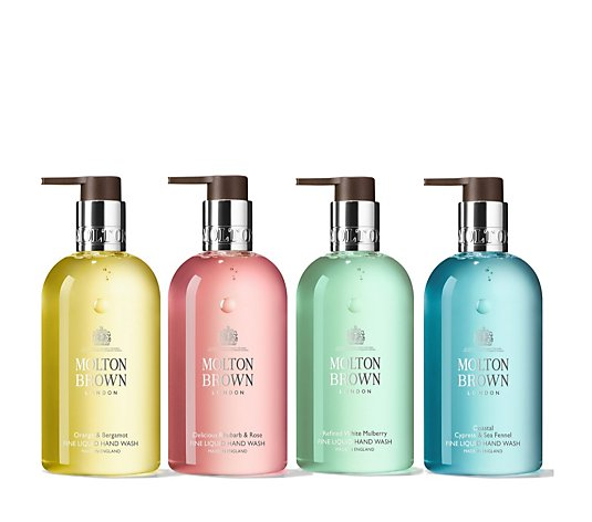 Molton Brown Ultimate 4 Piece Hand Wash Collection 300ml