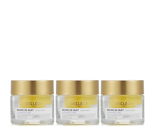 Decleor Lavender Fine Night Balm Trio 15ml