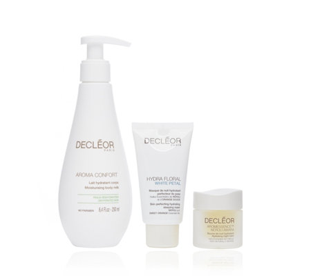 Decleor 3 Piece Night, Face & Body Recovery Collection