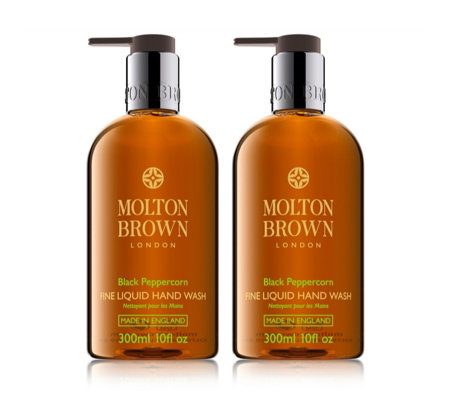 Molton Brown Pepper 300ml Hand Wash Duo