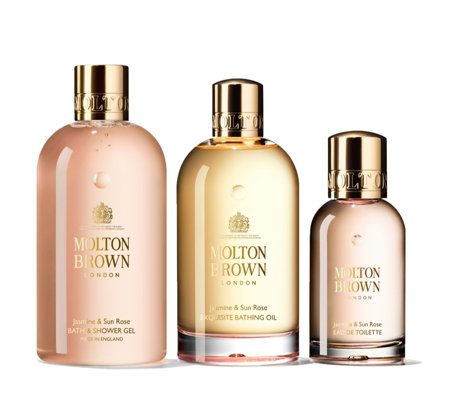 Molton Brown Empowering Jasmine & Sun Rose Body & Fragrance Layering Trio
