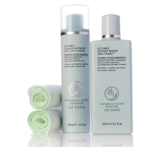 Liz Earle Cleanse/Polish and Tonic Set