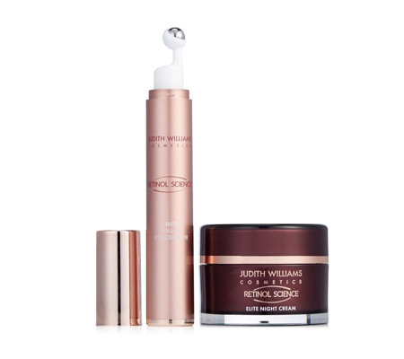 Judith Williams Retinol Science Night Cream 50ml & Roll On Concentrate 15ml