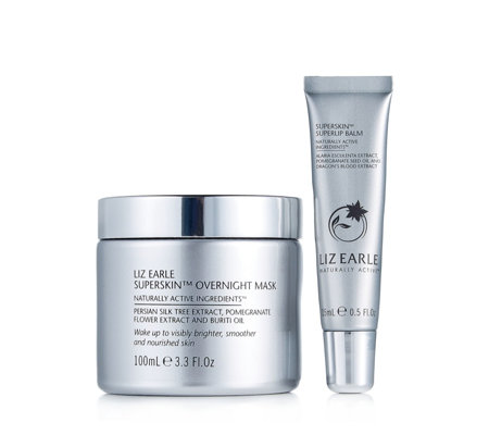 Liz Earle Superskin Overnight Mask & Superlip Balm
