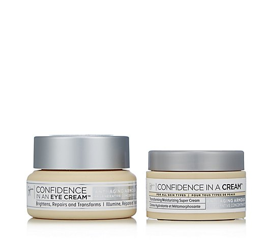 IT Cosmetics Confidence In An Eye Cream 15ml & Confidence In A Cream 15ml