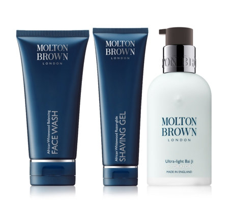 Molton Brown Mens 3 Piece Cleanse & Shave Collection