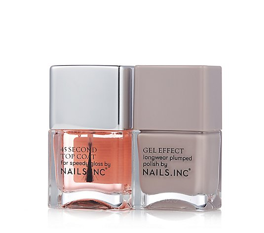 Nails Inc Porchester Square & Kensington 45 Second Topcoat 14ml