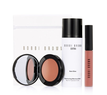 Bobbi Brown Day Glow 3 Piece Collection with Bag