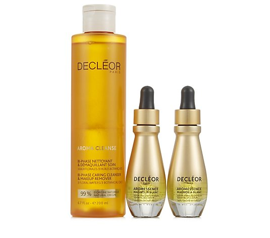 Decleor 3 Piece White Magnolia Anti-Aging Collection