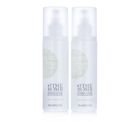 Lulu's Time Bomb Strike A Pose Modelling Spray 200ml Duo