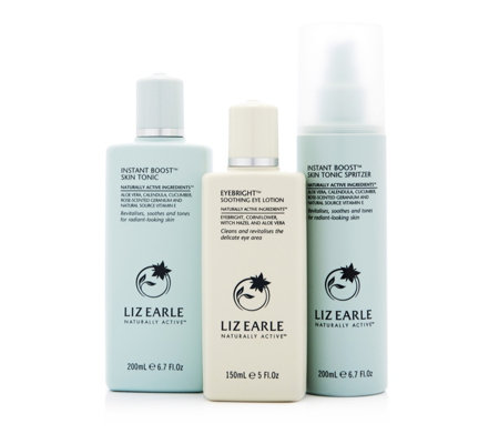 Liz Earle 3 Piece Eyebright & Skin Tonic Spring Refreshers