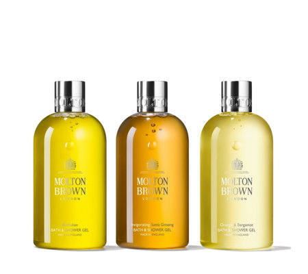 Molton Brown 3 Piece Invigorating Bathing Collection