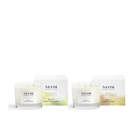 Neom 3 Wick Scented Candle Duo
