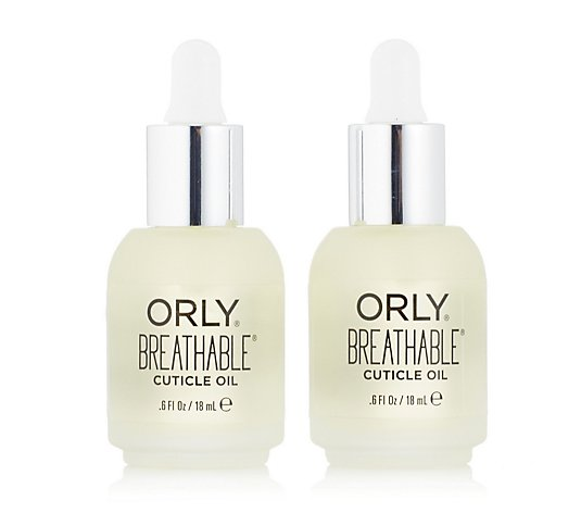 Orly Breathable Hydrating Cuticle Oil 18ml Duo
