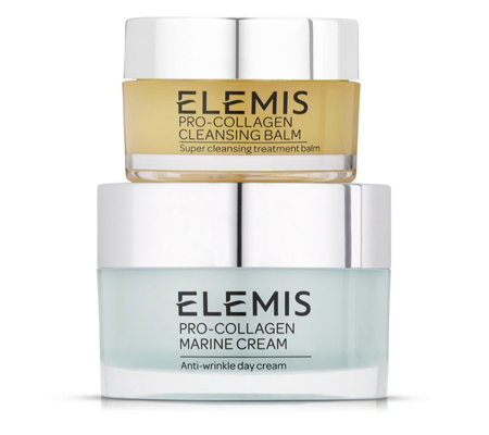 Elemis Pro-Collagen Day Cream 30ml & Cleansing Balm 20g