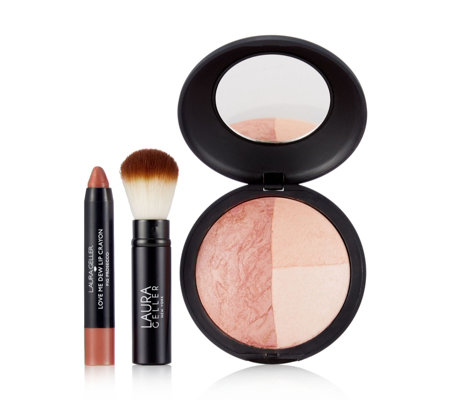 Laura Geller 3 Piece Fresh Face Collection