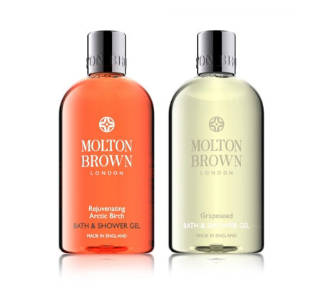 Molton Brown Arctic Birch & Grapeseed 300ml Shower Gel Duo