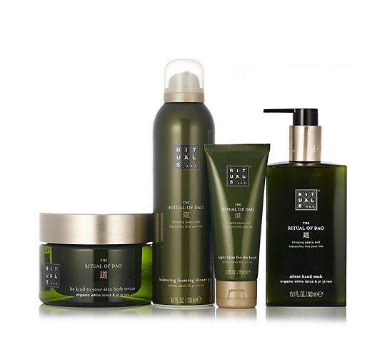 Rituals 4 Piece Hand & Body Collection