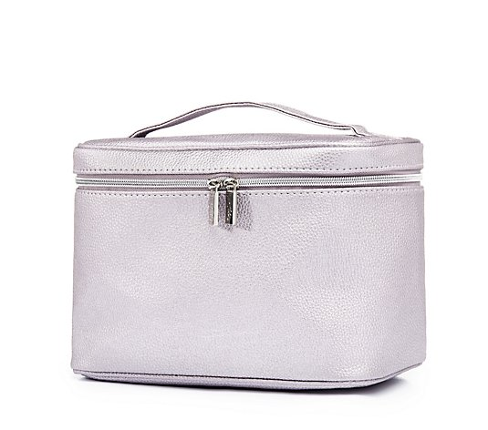 Tili Metallic Beauty Vanity Bag
