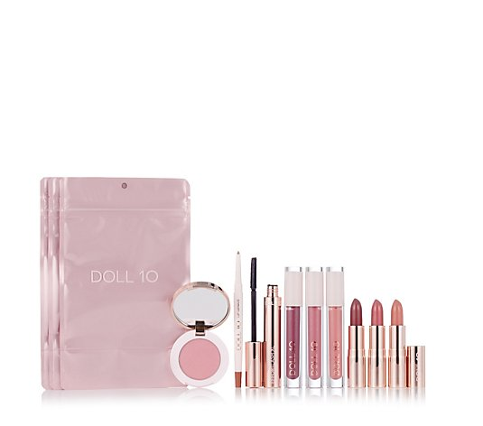 Doll 10 9 Piece Gift of Beauty Colour Collection