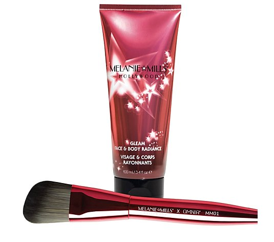 Melanie Mills Hollywood Face & Body Radiance with Brush