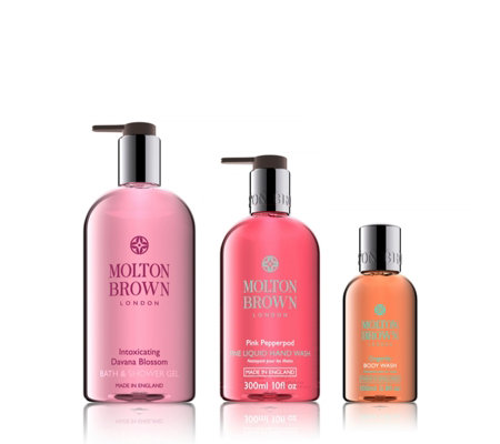 Molton Brown 3 Piece Alluring Hand & Body Collection For Her