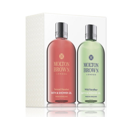 Molton Brown Sensual Hanaleni & Wild Fairyfleur 300ml Bath & Shower Duo