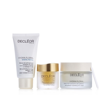 Decleor 3 Piece Recharge & Refresh Night Collection