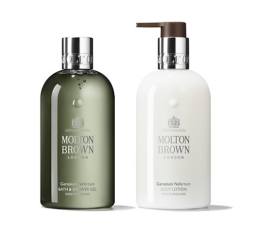 Molton Brown Geranium Nefertum Body Duo 300ml