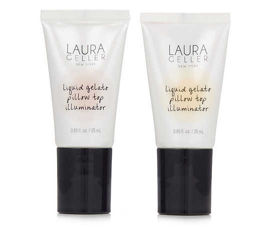 Laura Geller Liquid Gelato Pillow Top Illuminator Duo