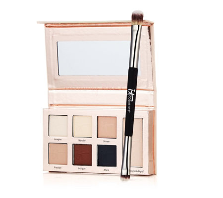 IT Cosmetics Naturally Pretty Essentials Palette & Brush