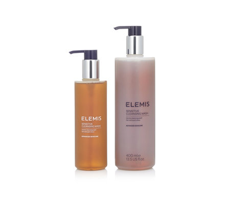 Elemis Sensitive Cleasing Wash Home And Away Duo