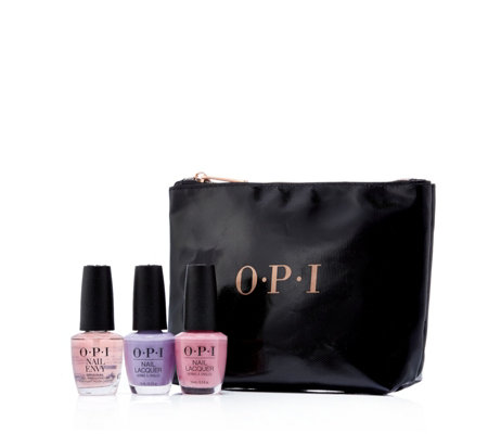 OPI 3 Piece Spring Essentials With Bag