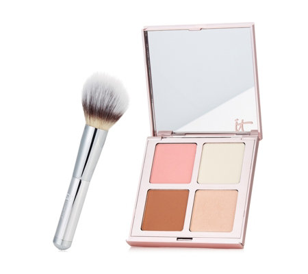 IT Cosmetics Je Ne Sais Quoi Palette & Wand Ball Brush