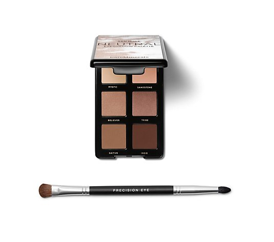 Bareminerals Gen Nude Eyeshadow Palette & Double Ended Brush
