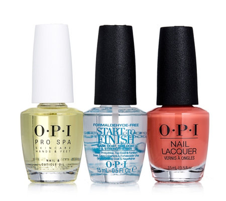 OPI 3 Piece Hot Manicure Collection
