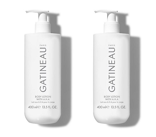 Gatineau Salon Size AHA Body Lotion 400ml Duo