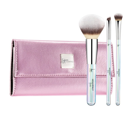 IT Cosmetics 3 Piece Heavenly Luxe Your Holiday Brush Set