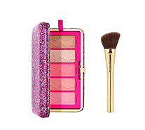 Tarte Life of the Party Clay Blush Palette Clutch & Brush - 237126